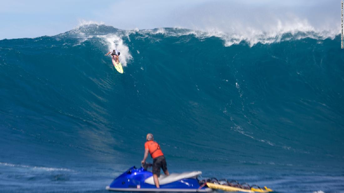 "One of the world's most popular destinations for big wave surfing and wind surfing, ""Jaws"" attracts some of the most talented stars from across the globe."