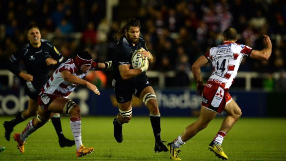 He also enjoyed a season in the English Premiership with Newcastle Falcons.
