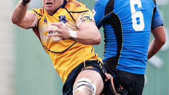 As well as playing in the US, Clever also had stints in Japan's Top League with Suntory Sungoliath and the NTT Communications Shining Arcs (pictured).