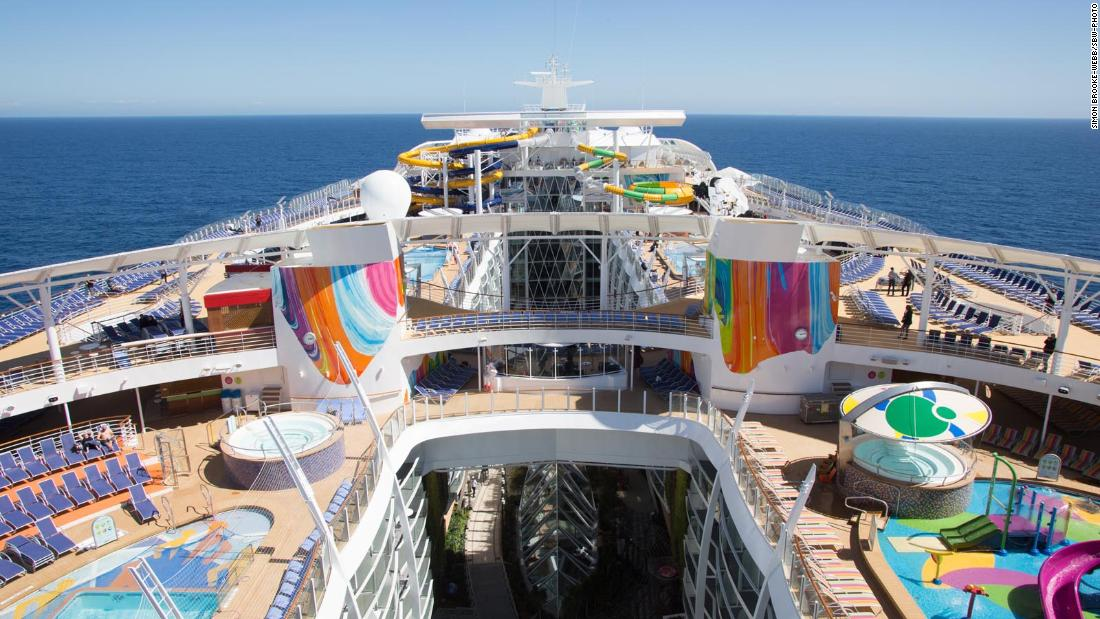 This Is The World S Biggest Cruise Ship Cnn Video