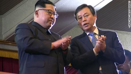 Kim Jong Un 'sincere and genuine' about talks, South Korean minister says