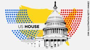 CNN House Key Race Alerts: A Dozen GOP Held Seats Get More Competitive