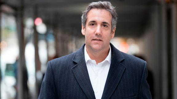 Attorney Michael Cohen walks down the sidewalk in New York, Wednesday, April 11, 2018, in New York. (AP/Mary Altaffer)