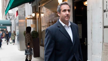 Attorney Michael Cohen walks down the sidewalk, Wednesday, April 11, 2018, in New York. (AP/Mary Altaffer)