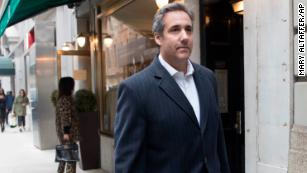 Trump called attorney Michael Cohen on Friday