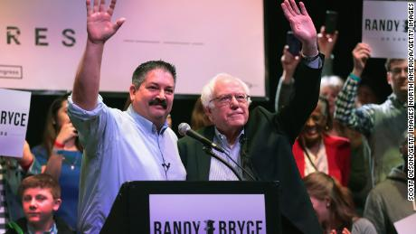 Among the candidates Bernie Sanders will appear with in the coming days is Randy Bryce, who is running for House Speaker Paul Ryan's seat in Wisconsin.