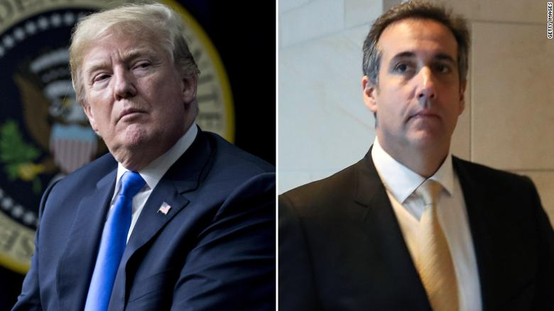 Trump discloses payment to Cohen in financial form