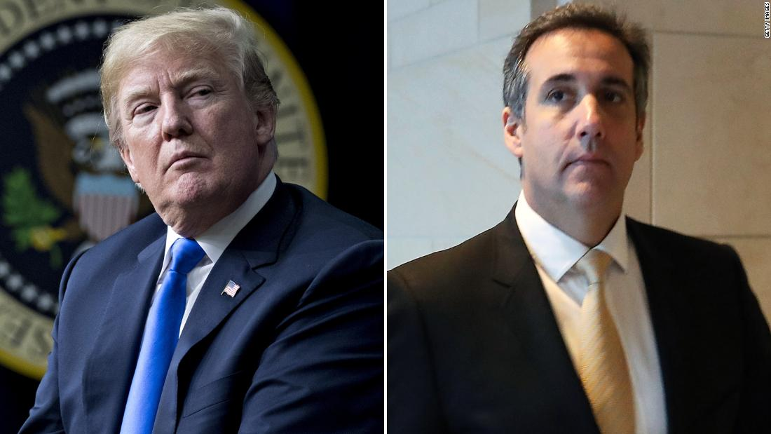 Trump and Cohen's relationship implodes - CNN Video
