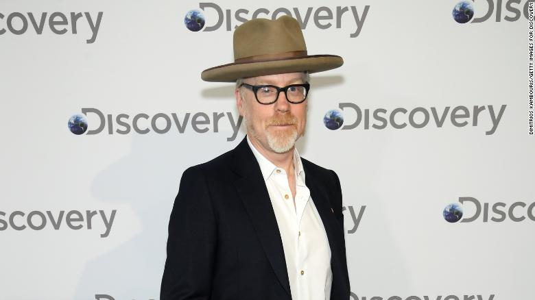 """Former """"Mythbusters"""" star Adam Savage in New York, NY, in April 2018."""