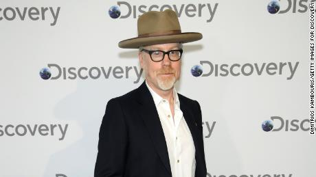 NEW YORK, NY - APRIL 10:  Adam Savage attends the Discovery Upfront 2018 at the Alice Tully Hall at Lincoln Center on April 10, 2018 in New York City.  (Photo by Dimitrios Kambouris/Getty Images for Discovery)