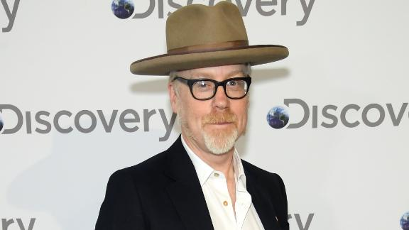 "Former ""Mythbusters"" star Adam Savage in New York, NY, in April 2018."