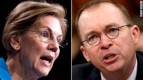 Warren to Mulvaney: You're hurting real people
