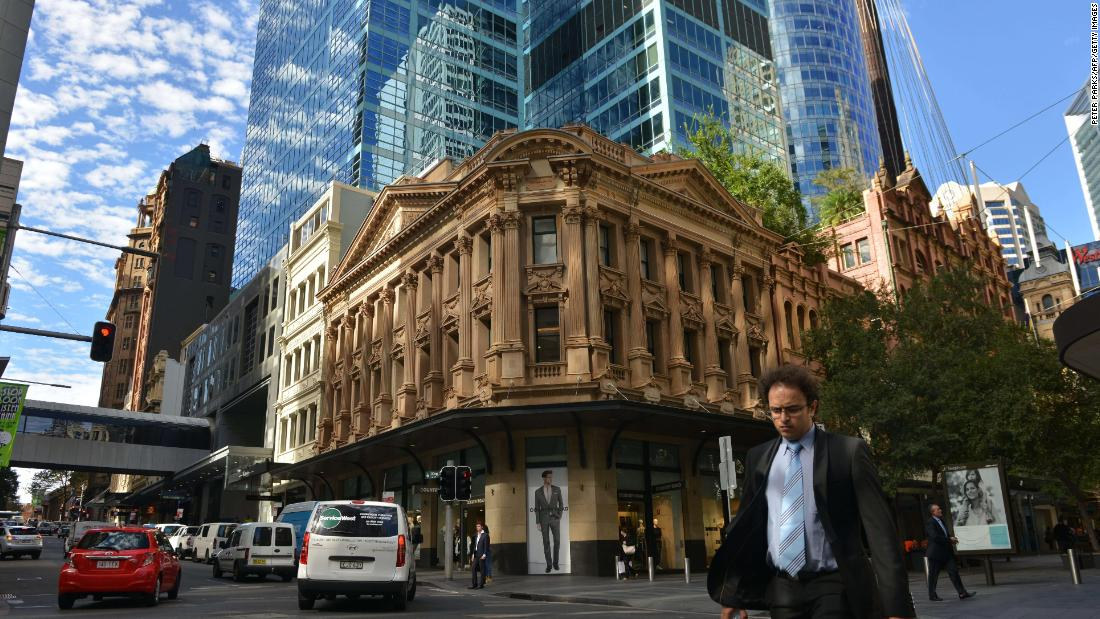 Currently, most of Sydney's knowledge-based jobs are located in the eastern Central Business District.