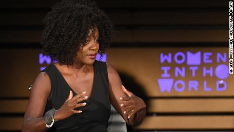 Actor Viola Davis speaks onstage at the 2018 Women In The World Summit at Lincoln Center on April 12, 2018 in New York City.