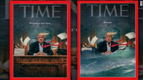 trump time magazine cover