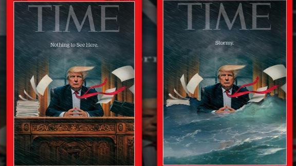 trump time magazine cover