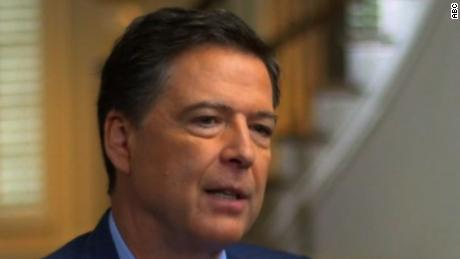 James Comey: 'It's possible' Russians have dirt on Trump
