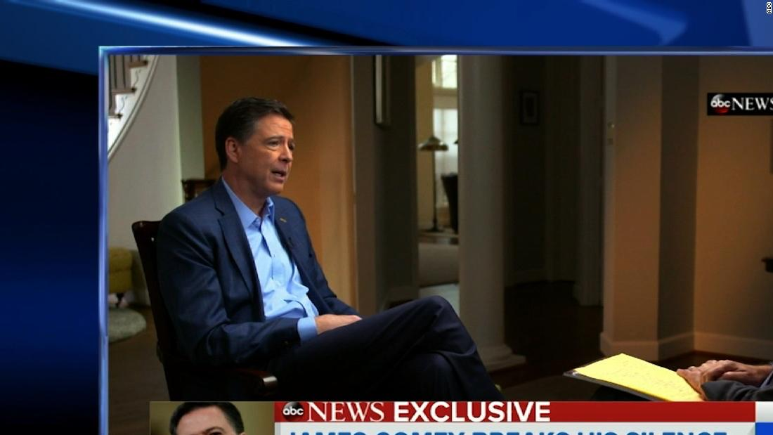 James Comey takes aim at President Trump in ABC News interview