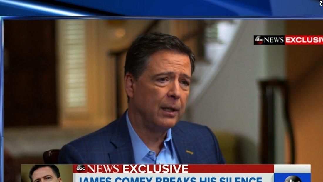 'I hope not': Comey on whether Trump should be impeached
