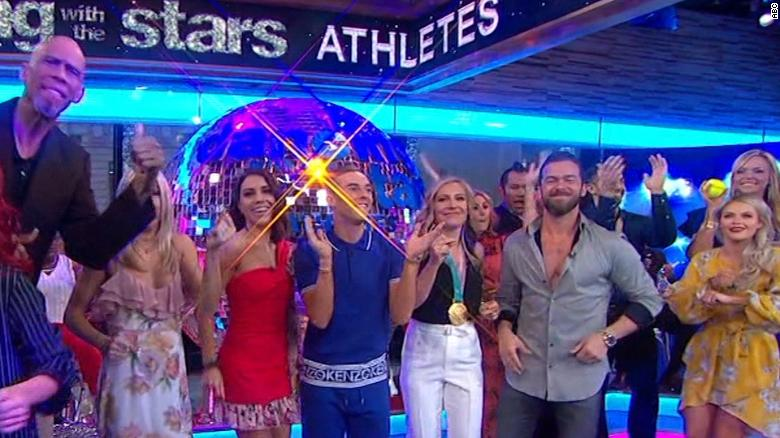 'Dancing with the Stars' features all athletes