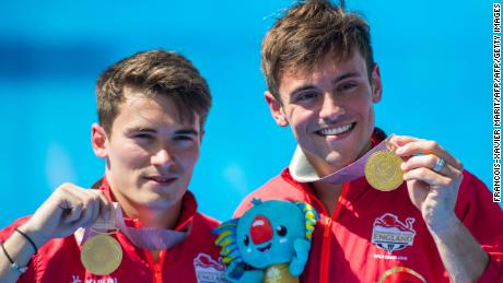 The 23-year-old claimed his fourth Commonwealth gold, alongside synchronized partner Dan Goodfellow.