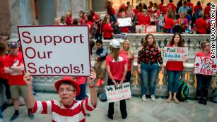 Kentucky teachers rally in 'day of action' at state Capitol