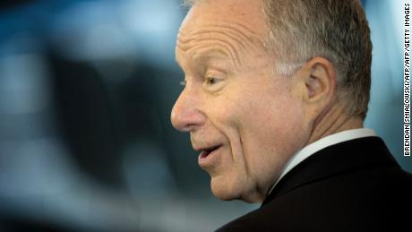 Scooter Libby arrives on December 3, 2015, during a dedication ceremony hosted by the US Senate at Emancipation Hall of the US Capitol Visitor Center in Washington, DC. The ceremony unveiled a bust of former US Vice President Dick Cheney, who as vice president, also served as President of the Senate.    AFP PHOTO/BRENDAN SMIALOWSKI / AFP / BRENDAN SMIALOWSKI        (Photo credit should read BRENDAN SMIALOWSKI/AFP/Getty Images)