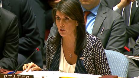 Haley slams Russia at UN Security Council