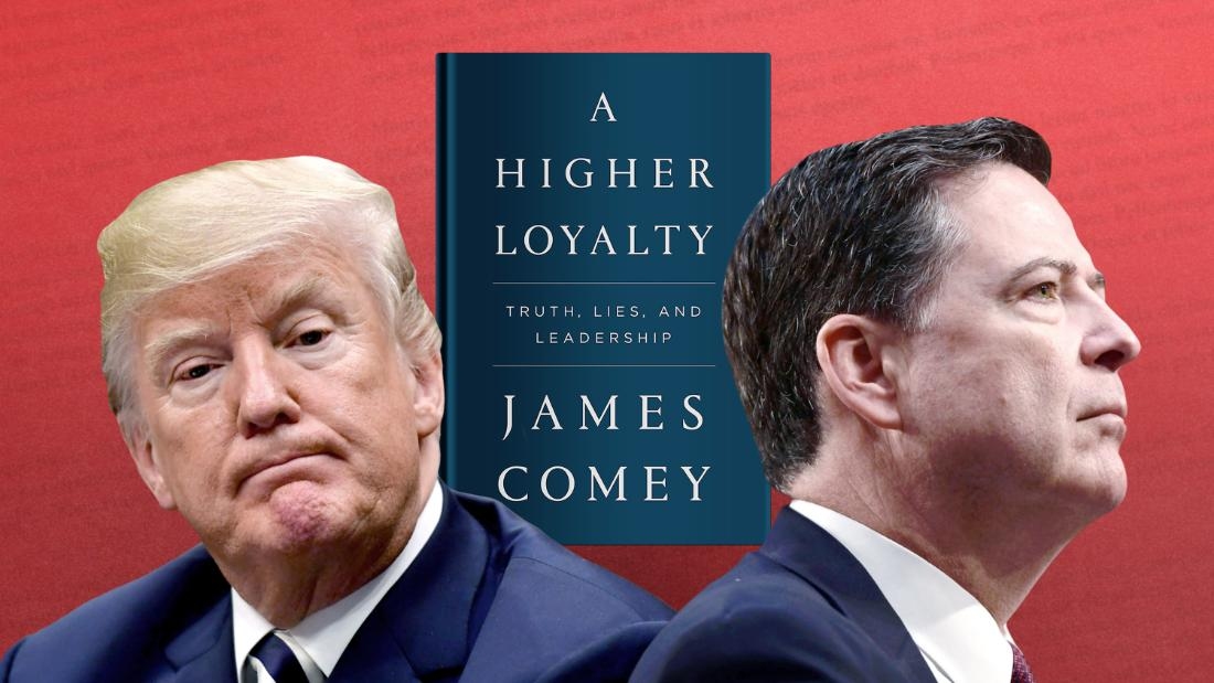 Trump unloads on Twitter at Comey
