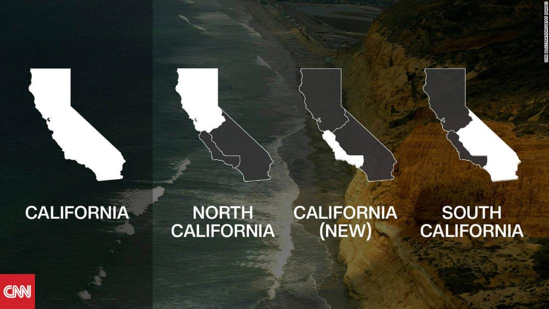Initiative to break California into 3 states qualifies for November ballot