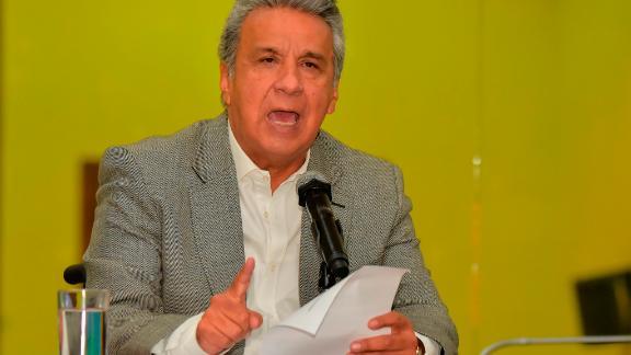 Ecuadorian President Lenin Moreno