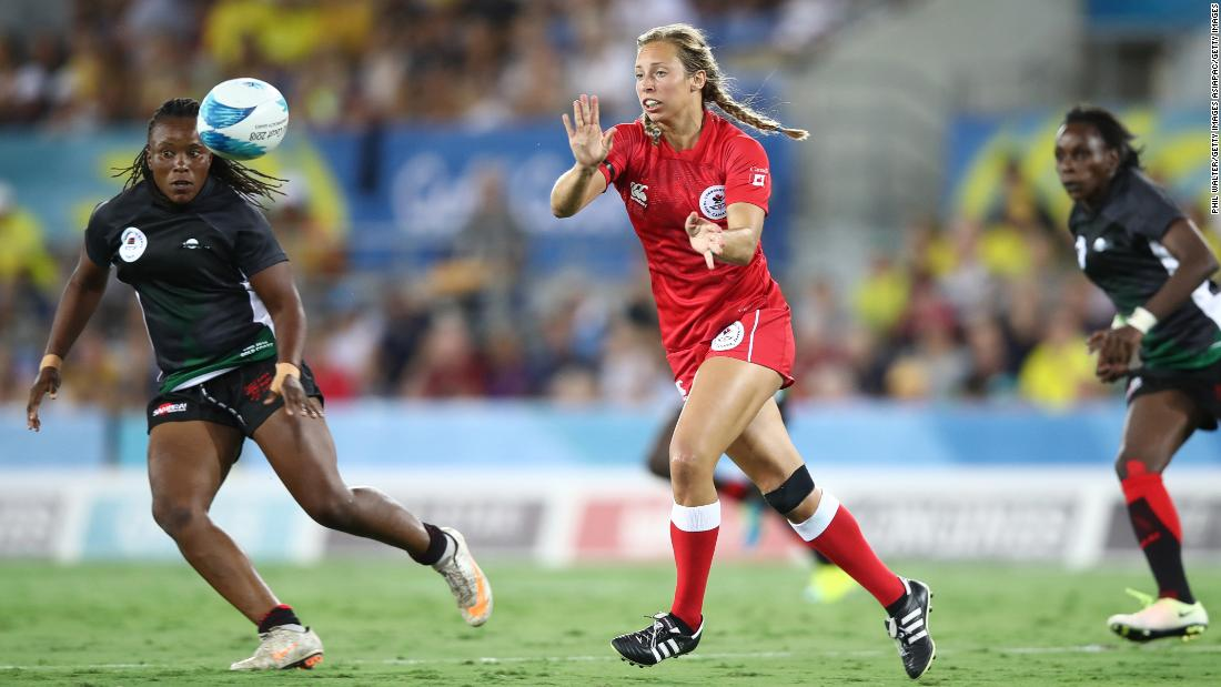 Canada finished Friday top of Group A and level on points with world champions New Zealand.