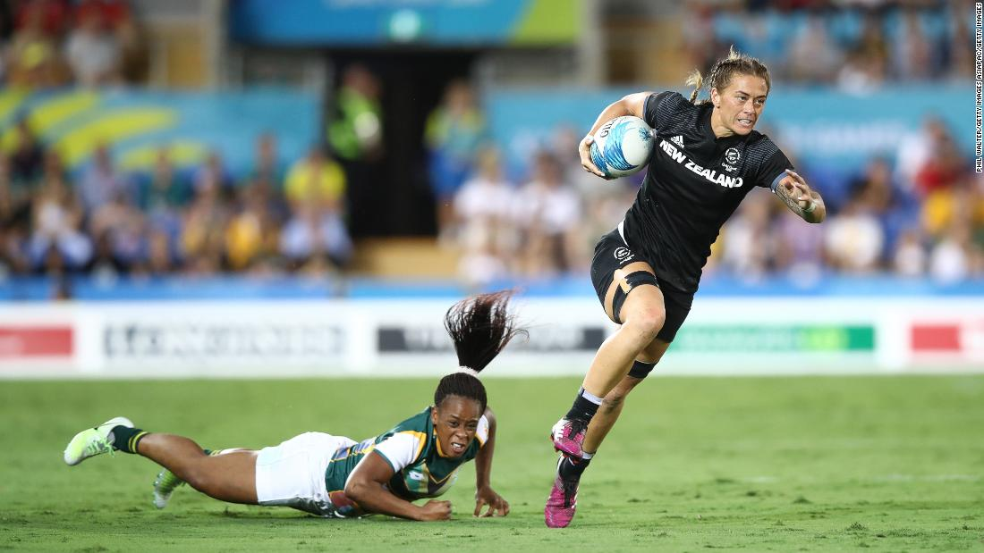 New Zealand put in another awesome display in their second match against South Africa, running away 41-0 winners.