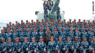 Xi Jinping's China shows off force in South China Sea