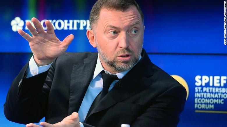 Russian oligarch sues US over sanctions