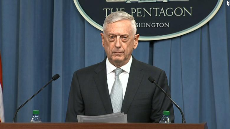 Mattis: Assad didn't get the message last year