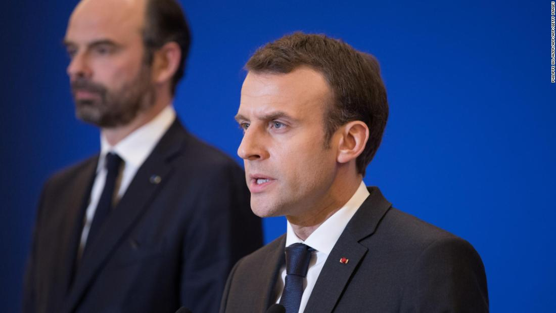 Macron: I 'convinced' Trump to stay in Syria