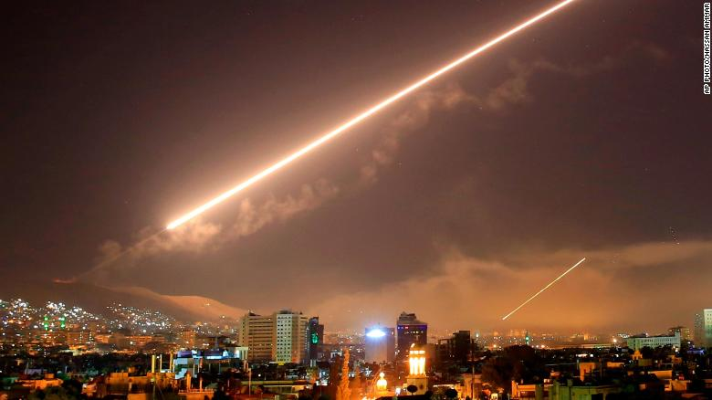 What exactly happened with the Syria strikes?
