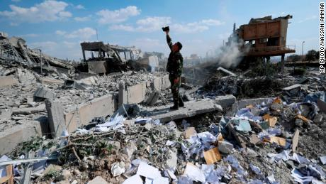 After Syrian airstrikes comes finger-pointing and condemnation