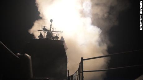 Department of Defense video shows missile launch