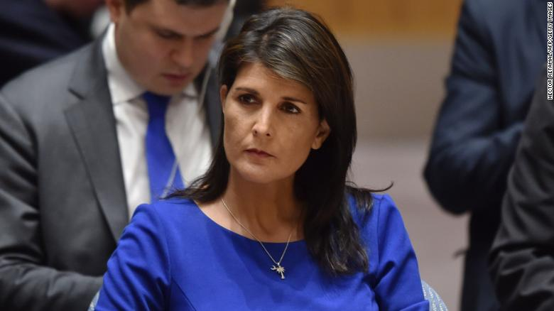 Haley: Pictures of dead kids weren't fake news
