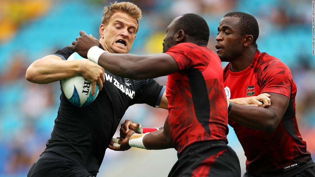 Kenya quest for a medal was crushed after defeat by New Zealand. They finished third in group C behind the All Blacks and Canada.