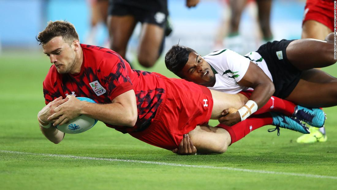 Wales finished second in Group D behind Fiji who defeated them in the deciding match 21-17 in a close contest.