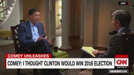 james comey email probe assumption clinton win abc sot_00024717.jpg