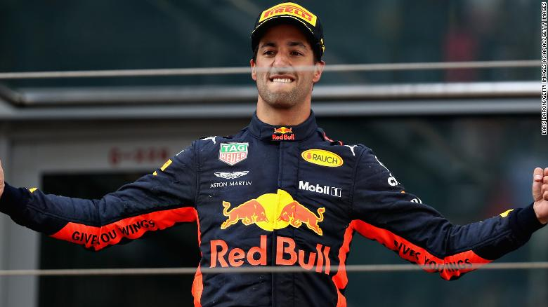 Daniel Ricciardo delights in Chinese GP win