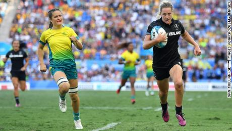 New Zealand were leading 12-0 at the half, before an Australian fightback forced the game into extra-time.
