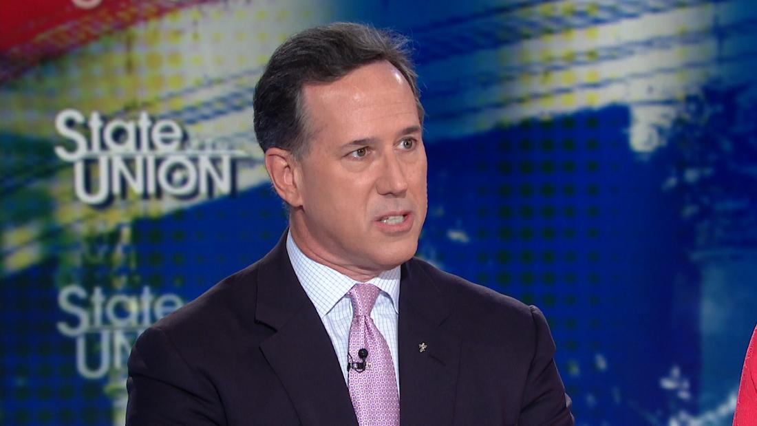 Santorum rips Comey's 'tell-nothing' book