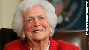 Barbara Bush honored as 'the first lady of the greatest generation'