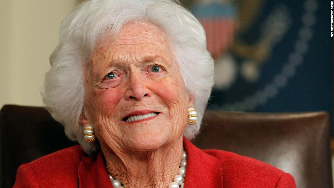 Four presidents come together to pay tribute to Barbara Bush – Trending Stuff