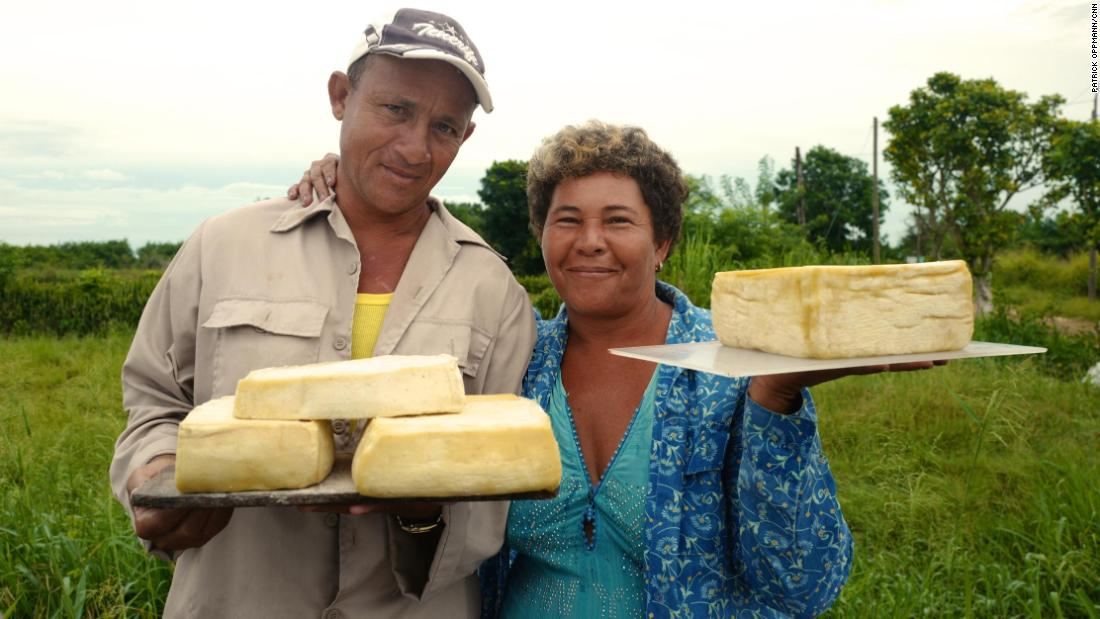 "Cubans sell ""highway cheese"" by the side of the road in Eastern Cuba. During his 10 years in power, Raul Castro's government created 200 categories of professions in which Cubans can, for the first time, legally work for themselves. These reforms led to hundreds of thousands of Cubans leaving their government jobs to work in the private sector. Still, an untold number of Cubans work in black market or semi-legal jobs that the Cuban government does not recognize."